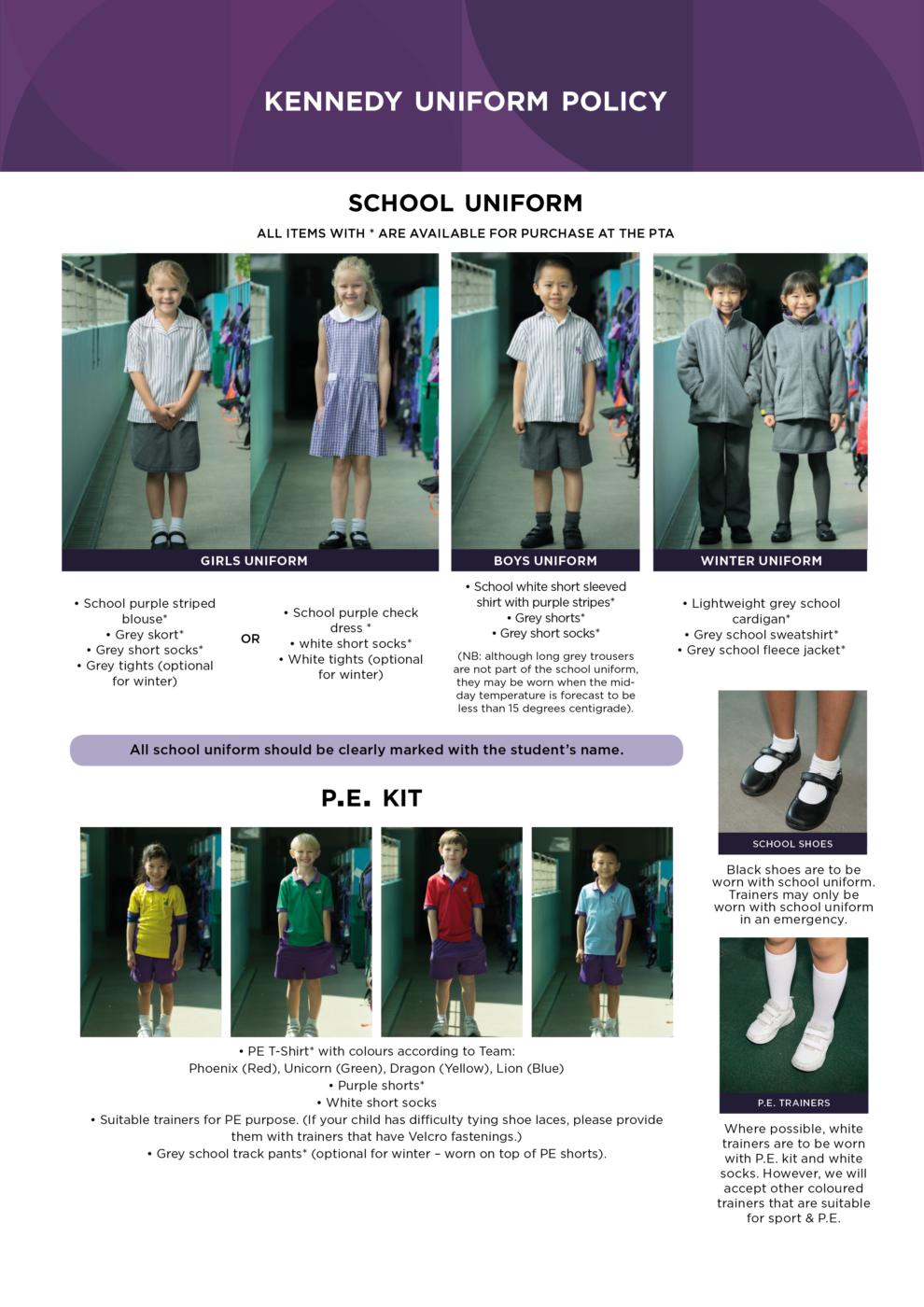 Kennedy School – ESF School Uniform - Kennedy School - ESF